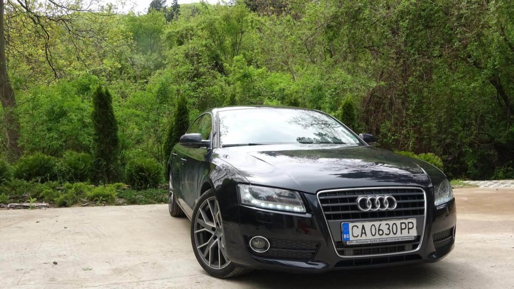 Ауди А5 - екстериор - Gt Rent a Car